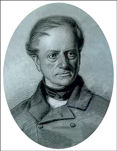 Hippolyte de Barrau premier président le la société de lettres de l'Aveyron