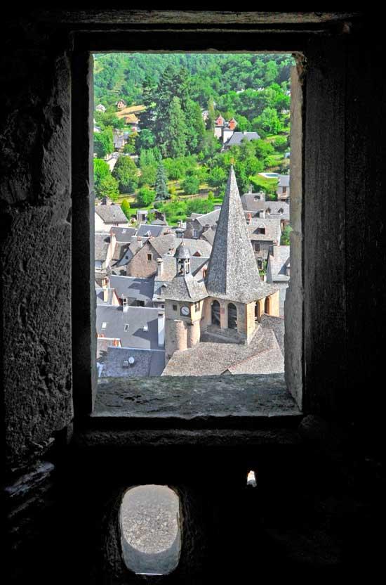 Chateau d'Estaing - vue de le tour