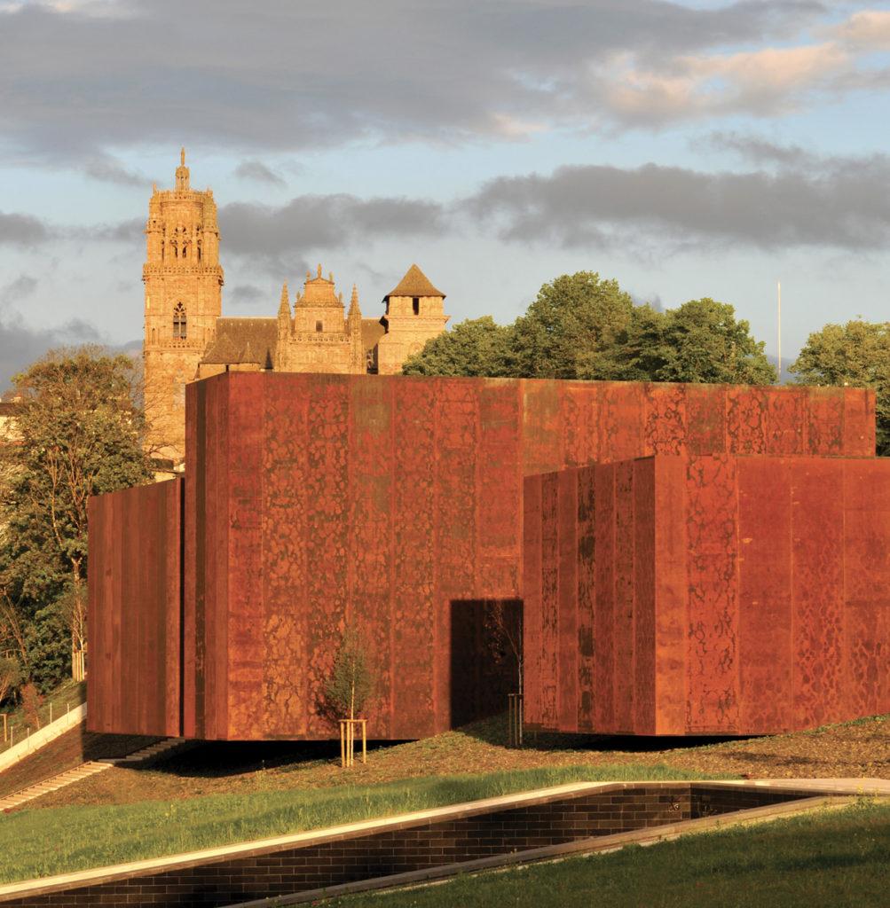 Vue du Musée Soulage - Musée d'Art Moderne à rodez