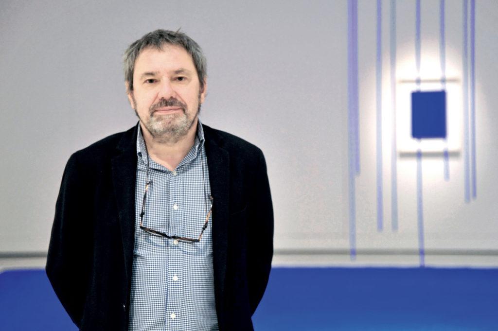 Portrait de Benoit Decron dans le Musée Soulages (Rodez)