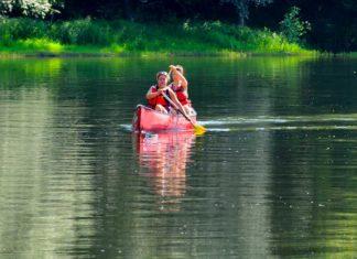 Canoe sur le Lot