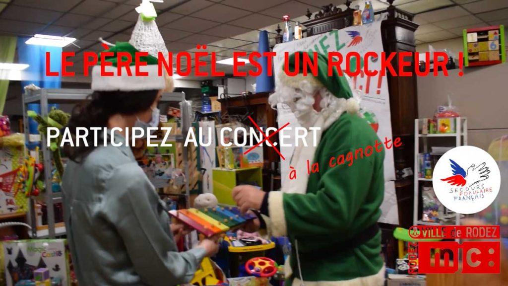Cagnotte Le Pere Noel est un rockeur 2020