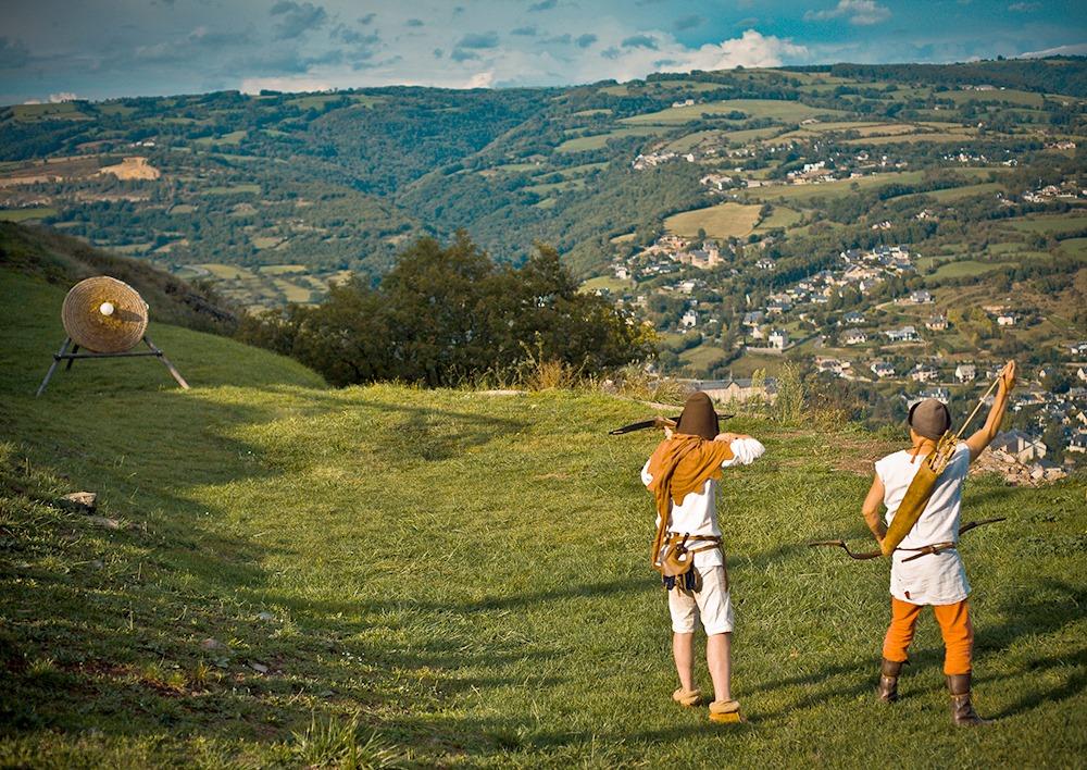 tournoi archerie ©Chateau de Calmont