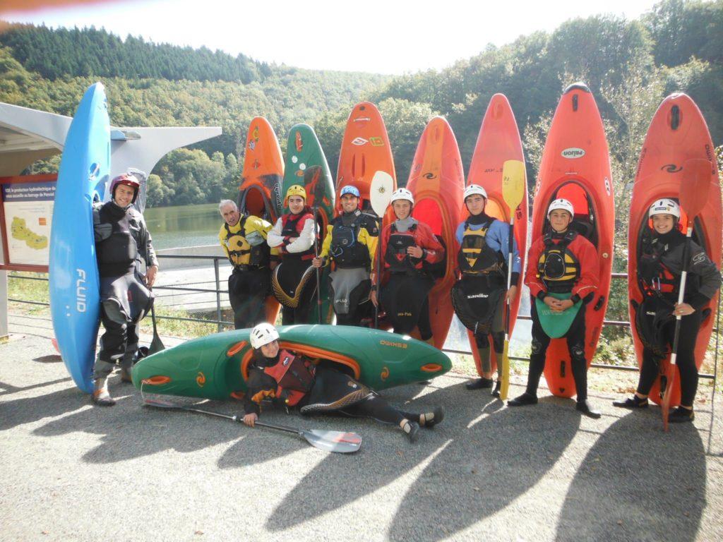 canoe kayak MJC de Rodez 21 22 02 1