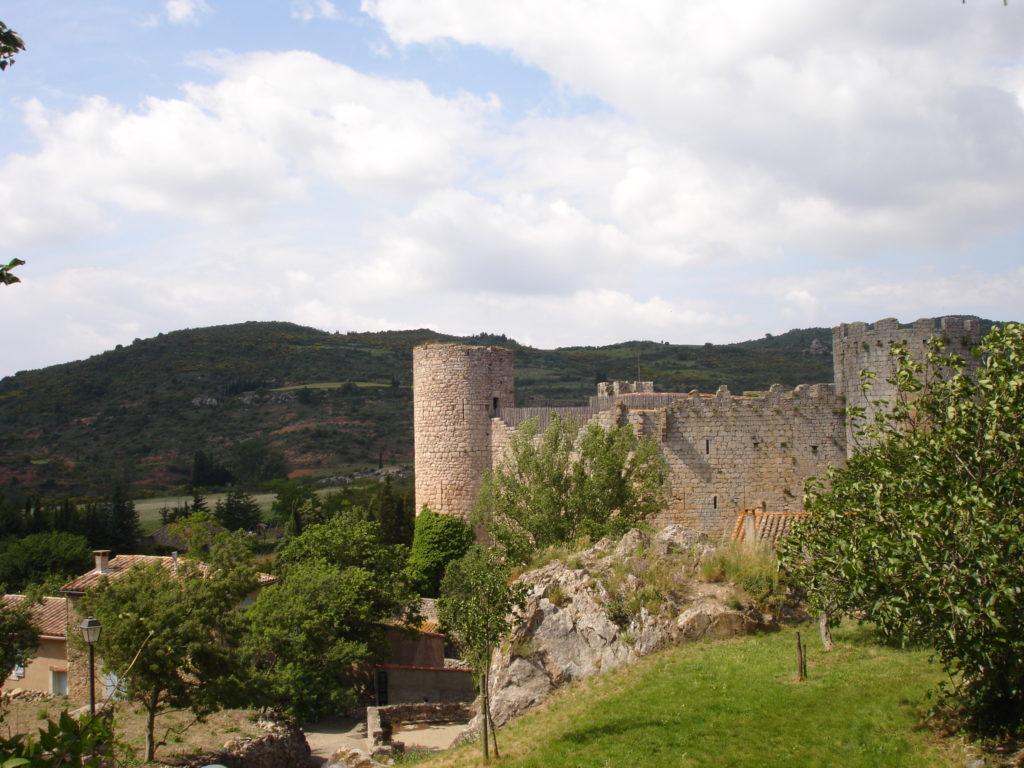 Belibaste a ete brule vif au chateau de Villerouge Termenes dans l Aude